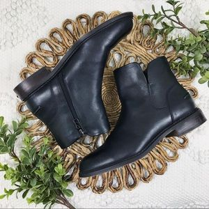Franco Sarto Black Boots